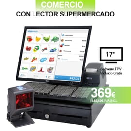 TPV + SCANNER- Especial Supermercados