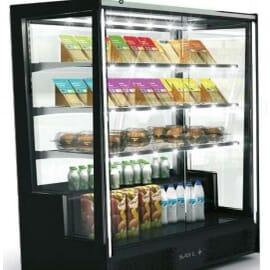 La vitrina refrigerada vertical PAK RECTA