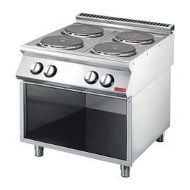 Cocina eléctrica 4 placas