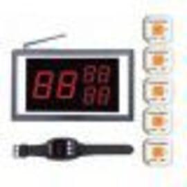 PACK B monitor, cinco avisadores y reloj